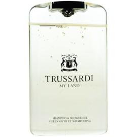 Trussardi My Land gel de ducha para hombre 200 ml