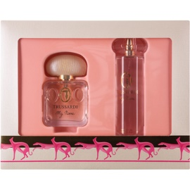 Trussardi My Name Greyhound Massage coffret I.  Eau de Parfum 50 ml + óleo 100 ml