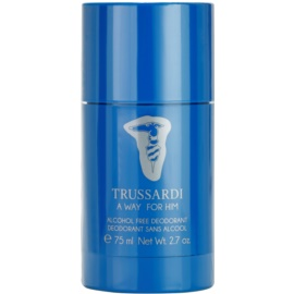 Trussardi A Way For Him deo-stik za moške 75 ml