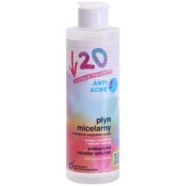Under Twenty ANTI! ACNE antibakteriální micelární voda  200 ml