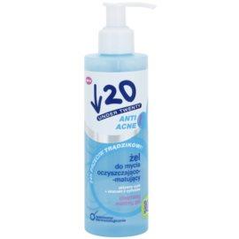 Under Twenty ANTI! ACNE tiefenreinigendes Gel gegen Akne  200 ml
