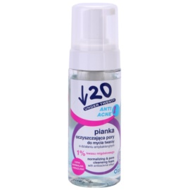 Under Twenty ANTI! ACNE spuma de curatare cu efect antibacterian  150 ml
