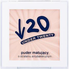 Under Twenty ANTI! ACNE матуюча прозора пудра з антибактеріальними властивостями  6 гр
