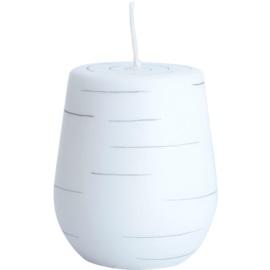 Unipar Nordlys Steep Line White dekorativní svíčka 205 g