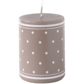 Unipar Retro Light Brown dekorativní svíčka 200 g  (Ø 60 - 80)