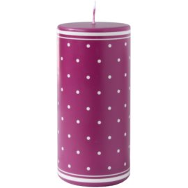Unipar Retro Pink Kerze 475 g  (Ø 70 - 150)
