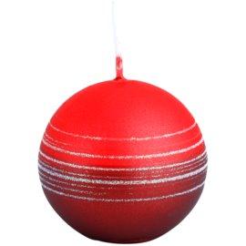 Unipar Tonnet Light Red-Red dekoratívna sviečka 90 g  (Ø 60)