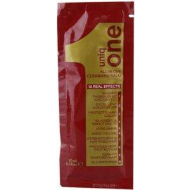 Uniq One Care tisztító balzsam minden hajtípusra  20 ml