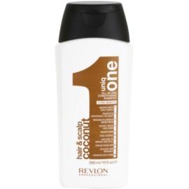 Uniq One Care champô reforçador para todos os tipos de cabelos  300 ml