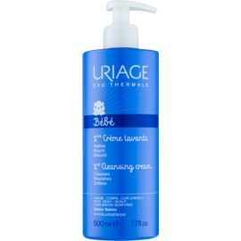 Uriage 1érs Soins Bébés Cleansing Cream for Face, Body and Hair  500 ml