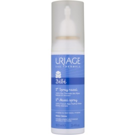 Uriage 1érs Soins Bébés přírodní fyziologický roztok pro zklidnění nosní sliznice  100 ml