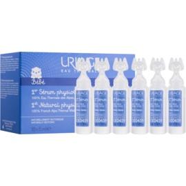 Uriage 1érs Soins Bébés přírodní fyziologický roztok pro zklidnění očí a nosních sliznic  18x5 ml