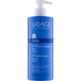 Uriage 1érs Soins Bébés čisticí olej na tvář, tělo a pokožku hlavy  500 ml