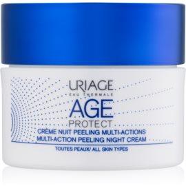 Uriage Age Protect multiaktivní peelingový krém na noc  50 ml