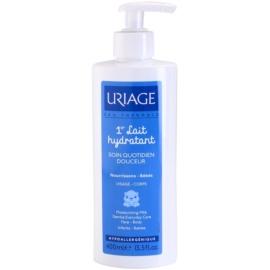 Uriage 1érs Soins Bébés feutigkeitsspendende Milch für Körper und Gesicht  400 ml