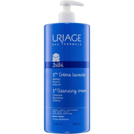 Uriage 1érs Soins Bébés Cleansing Cream for Face, Body and Hair  1000 ml