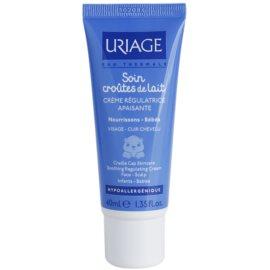 Uriage 1érs Soins Bébés upokojujúci krém na tvár a pokožku hlavy  40 ml