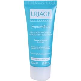 Uriage AquaPRÉCIS hidratáló géles krém normál és kombinált bőrre  40 ml