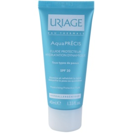 Uriage AquaPRÉCIS feuchtigkeitsspendendes Schutzserum für alle Hauttypen SPF 20  40 ml