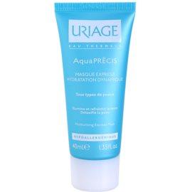 Uriage AquaPRÉCIS maseczka nawilżająca do wszystkich rodzajów skóry  40 ml