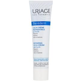 Uriage Bariéderm Cica репариращ крем, съдържащ мед и цинк   40 мл.