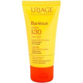 Uriage Bariésun lehký ochranný krém na obličej SPF 30 voděodolný  50 ml
