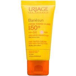 Uriage Bariésun creme protetor com cor SPF 50+  tom Fair  50 ml