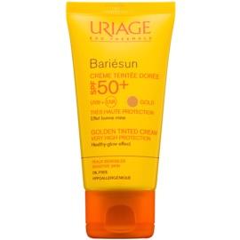 Uriage Bariésun creme protetor com cor SPF 50+  tom Gold  50 ml