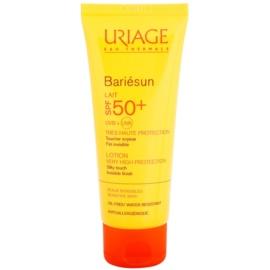 Uriage Bariésun seidig-feine schützende Lotion für Gesicht und Körper SPF 50+  100 ml