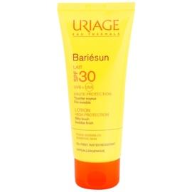 Uriage Bariésun hedvábně jemné ochranné mléko na obličej a tělo SPF 30  100 ml