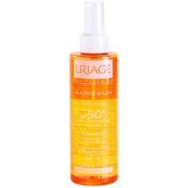 Uriage Bariésun suchý olej na opalování SPF 50+  200 ml