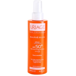 Uriage Bariésun sprej na opalování bez parfemace SPF 50+  200 ml