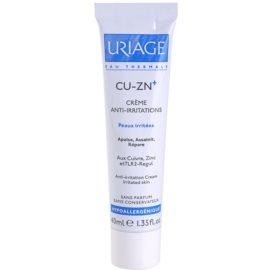 Uriage Cu-Zn+ заспокоюючий крем крем для потрісканої шкіри  40 мл