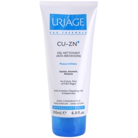 Uriage Cu-Zn+ заспокоюючий очищуючий гель крем для потрісканої шкіри  200 мл