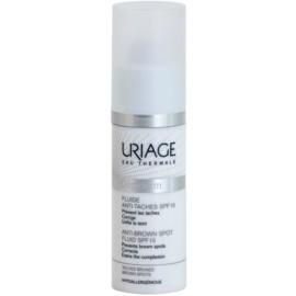 Uriage Dépiderm Fluid gegen Pigmentflecken LSF 15  30 ml