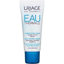 Uriage Eau Thermale krem odżywczo-nawilżający do skóry suchej i bardzo suchej  40 ml