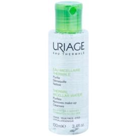 Uriage Eau Micellaire Thermale Міцелярна очищуюча вода для комбінованої та жирної шкіри  100 мл