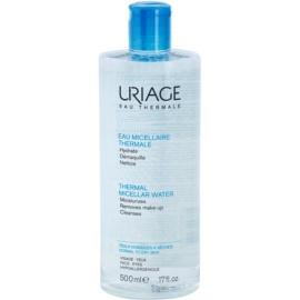 Uriage Eau Micellaire Thermale Mizellar-Reinigungswasser für normale und trockene Haut  500 ml