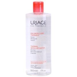 Uriage Eau Micellaire Thermale micelární čisticí voda pro citlivou pleť se sklonem ke zčervenání  500 ml