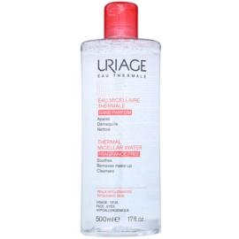 Uriage Eau Micellaire Thermale mizellares Reinigungswasser für empfindliche Haut mit Neigung zu Reizungen Nicht parfümiert  500 ml