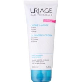 Uriage Hygiène creme de limpeza nutritivo  para corpo e rosto  200 ml