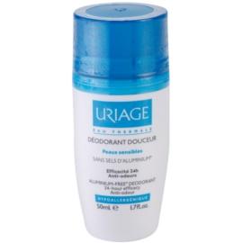 Uriage Hygiène jemný dezodorant roll-on bez obsahu hliníka  50 ml