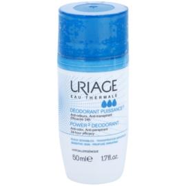 Uriage Hygiène deodorant roll-on proti bílým a žlutým skvrnám  50 ml