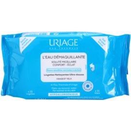 Uriage Hygiène toalhitas desmaquilhantes para pele normal e seca  25 un.