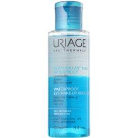 Uriage Hygiène desmaquillante para  maquillaje resistente al agua para ojos sensibles  100 ml