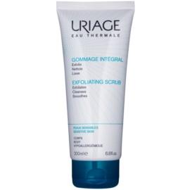 Uriage Hygiène reinigendes Peeling-Gel für empfindliche Oberhaut  200 ml