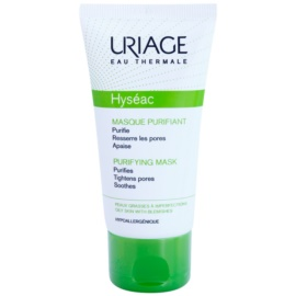 Uriage Hyséac reinigende und beruhigende Maske für das Gesicht zum verkleinern der Poren  50 ml