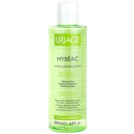 Uriage Hyséac apa pentru curatarea tenului pentru ten gras  200 ml