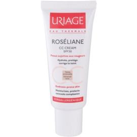Uriage Roséliane CC Creme für empfindliche Haut mit der Neigung zum Erröten SPF 30  40 ml