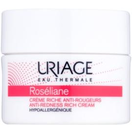 Uriage Roséliane nährende Tagescreme für empfindliche Haut mit der Neigung zum Erröten  50 ml